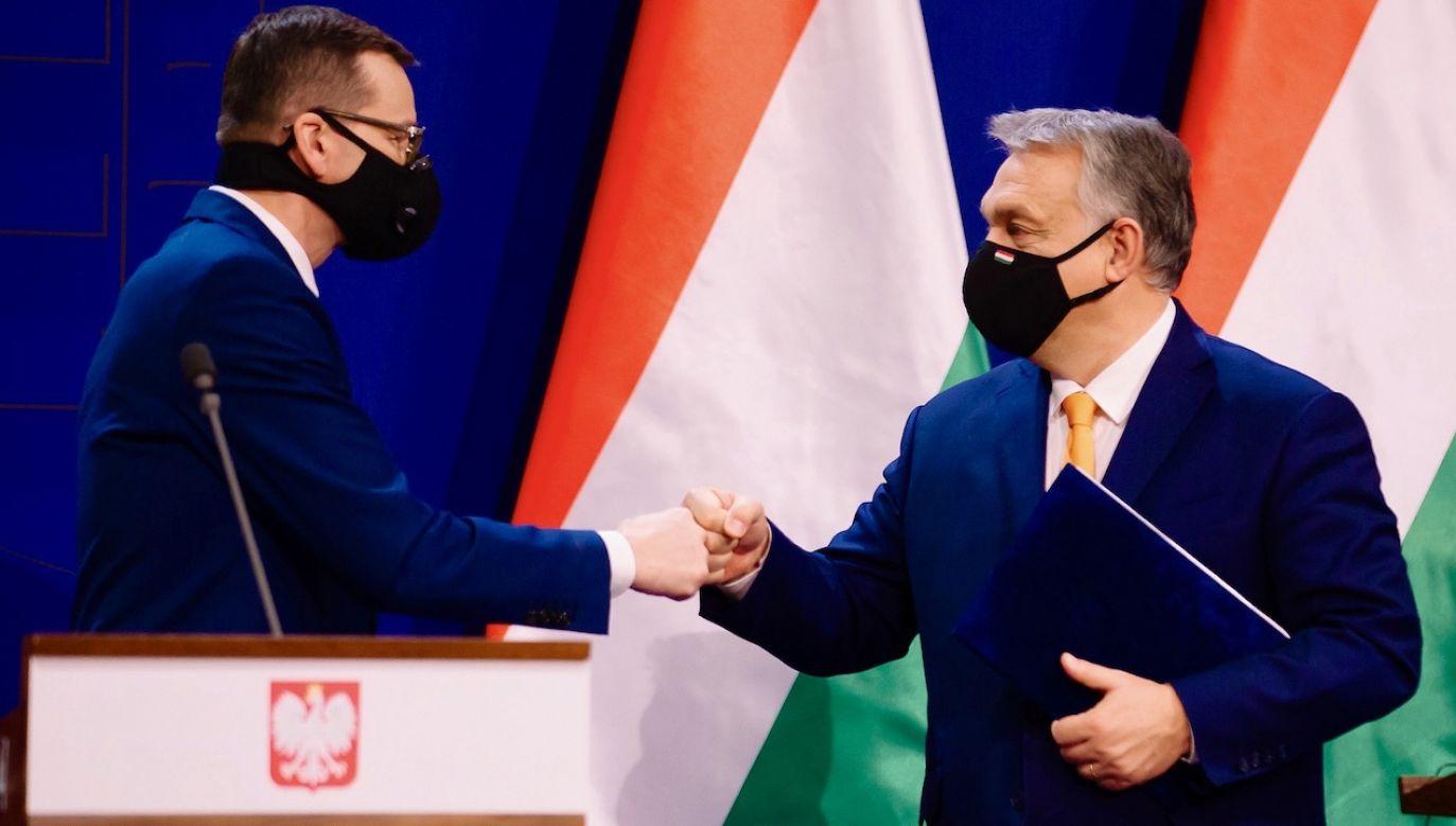 Delegacja Węgier przybędzie do Warszawy po godz. 18 (fot. Krystian Maj/KPRM)