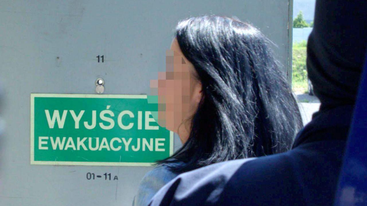 Zatrzymana b. szefowa rzeszowskiej prokuratury apelacyjnej Anna H., została aresztowana na trzy miesiące (fot. PAP/Andrzej Grygiel)
