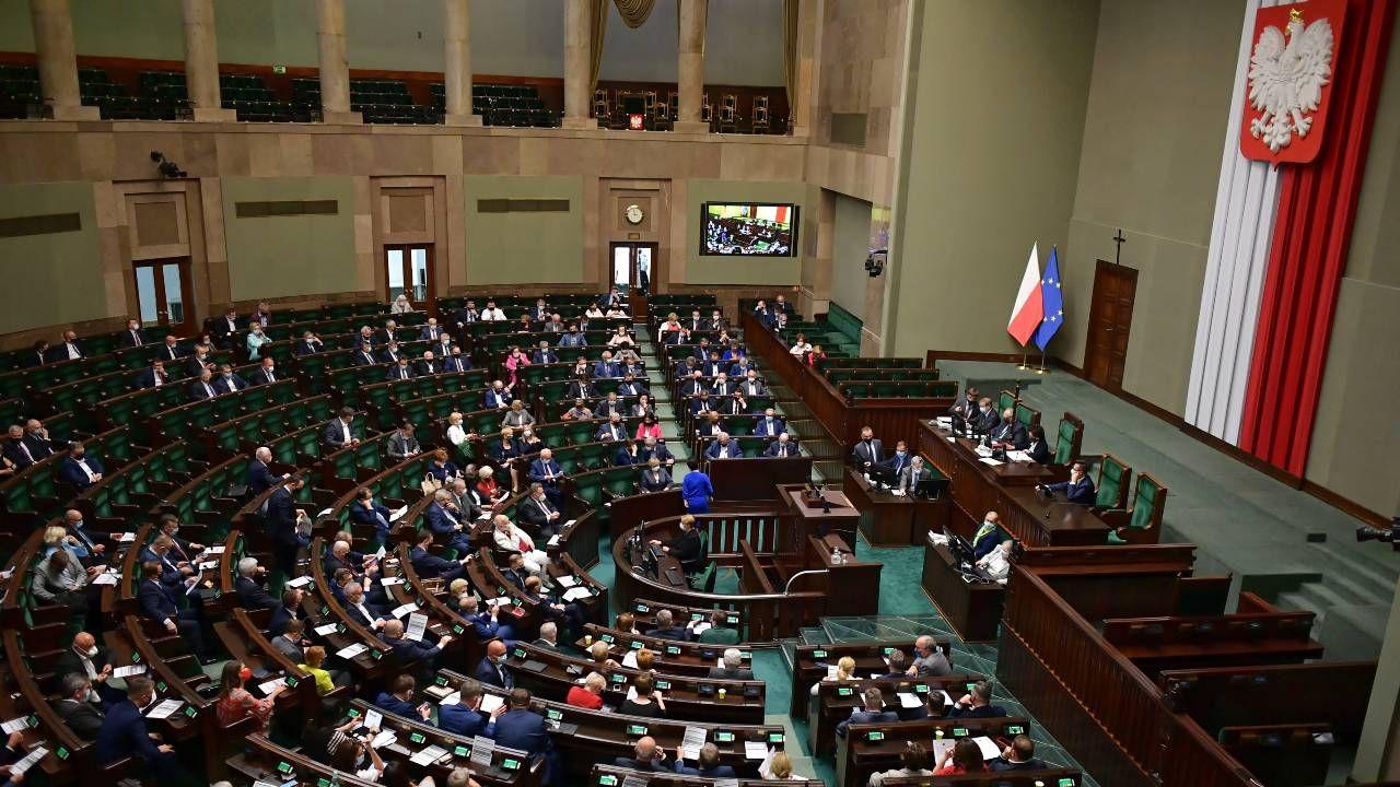 Sejm powołał Lidię Staroń na RPO (fot. PAP/Marcin Obara)