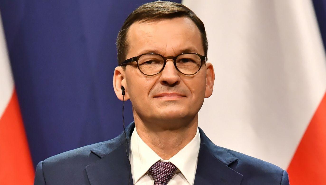 Koronawirus. Premier Mateusz Morawiecki zaprasza na Q&A (fot. PAP/Andrzej Lange)