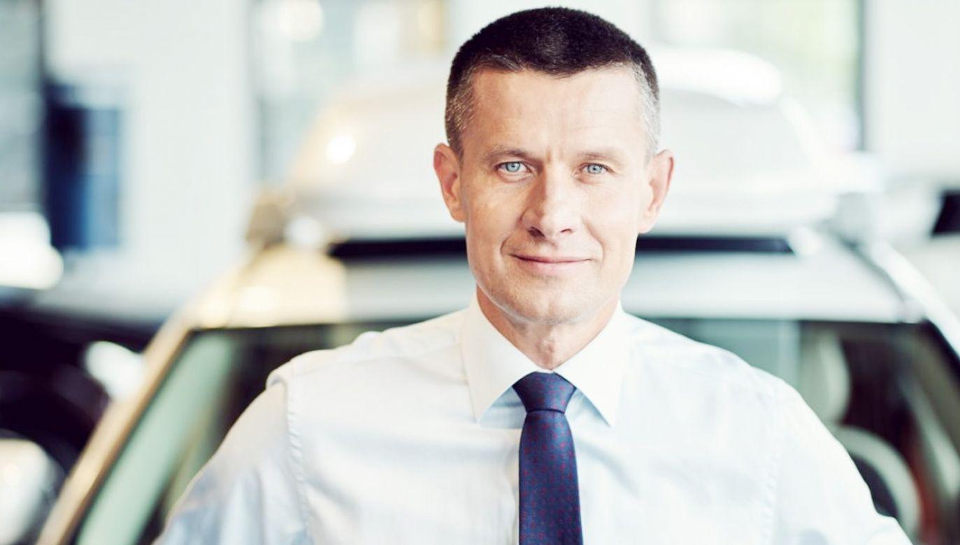 Arkadiusz Nowiński nowym szefem regionu EMEA Volvo Cars (fot. Volvo.pl)