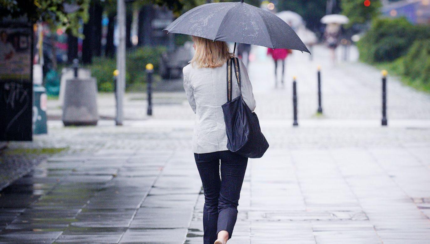 W weekend będzie deszczowo (fot. Jaap Arriens/NurPhoto via Getty Images)