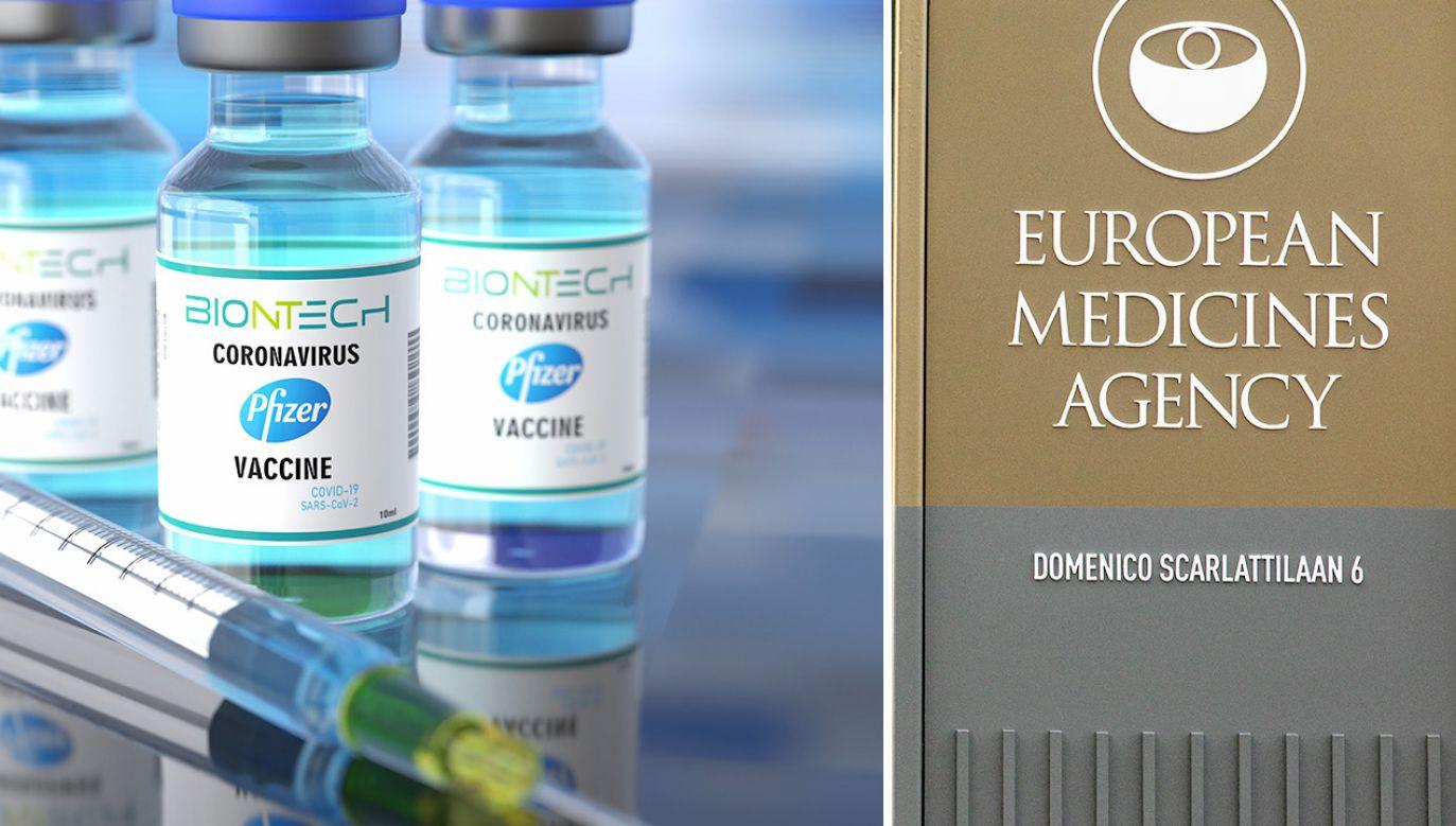 Z jednej fiolki szczepionki można pobierać sześć dawek (fot. Shutterstock; Niels Wenstedt/BSR Agency/Getty Images)