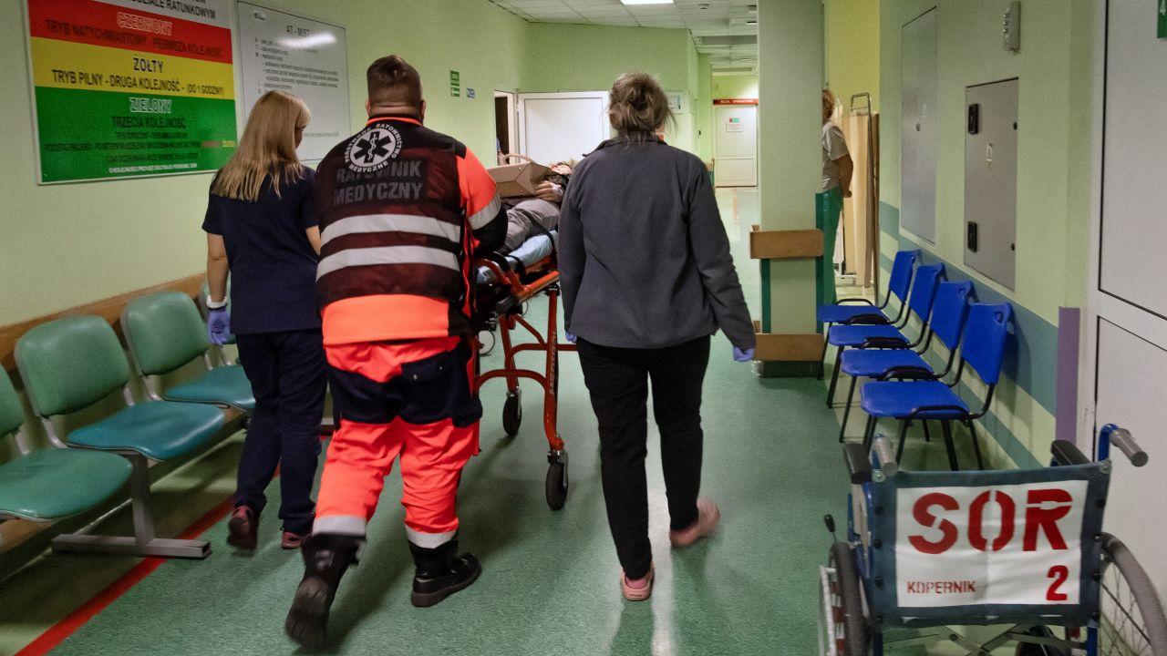"""""""Chcemy, aby wszyscy mieli dostęp do ochrony zdrowia na europejskim poziomie"""" (fot. arch. PAP/Grzegorz Michałowski)"""