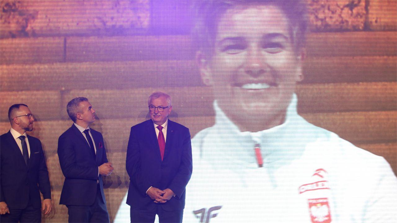 Anita Włodarczyk wygrała już po raz dziewiąty (fot. PAP/Leszek Szymański)