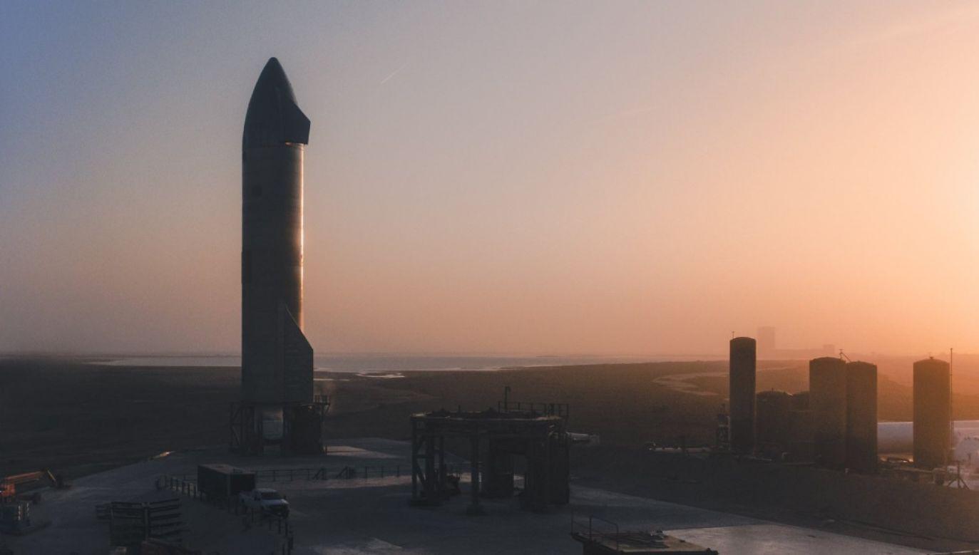 SN11 docelowo ma zabrać ludzi na Marsa (fot. SpaceX)