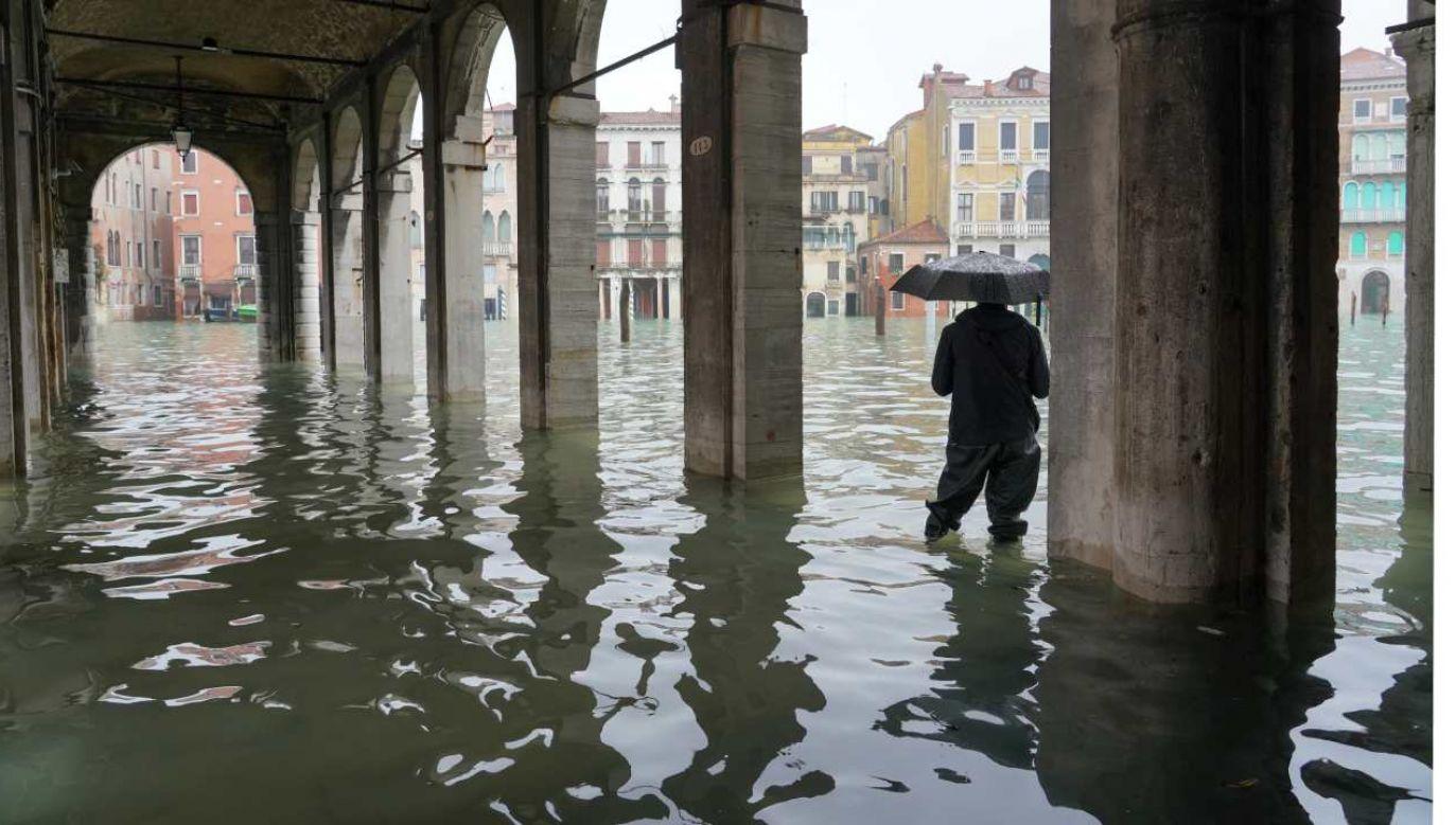 Bariery mają chronić Wenecję przed kolejnym zalaniem (fot.  Carlo Morucchio / REDA & CO / Universal Images Group via Getty Images)