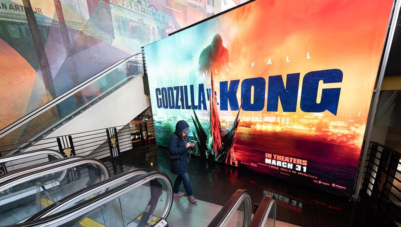 """Film """"Godzilla vs. Kong"""" mogli zobaczyć widzowie w 38 krajach (fot. Noam Galai/WireImage)"""