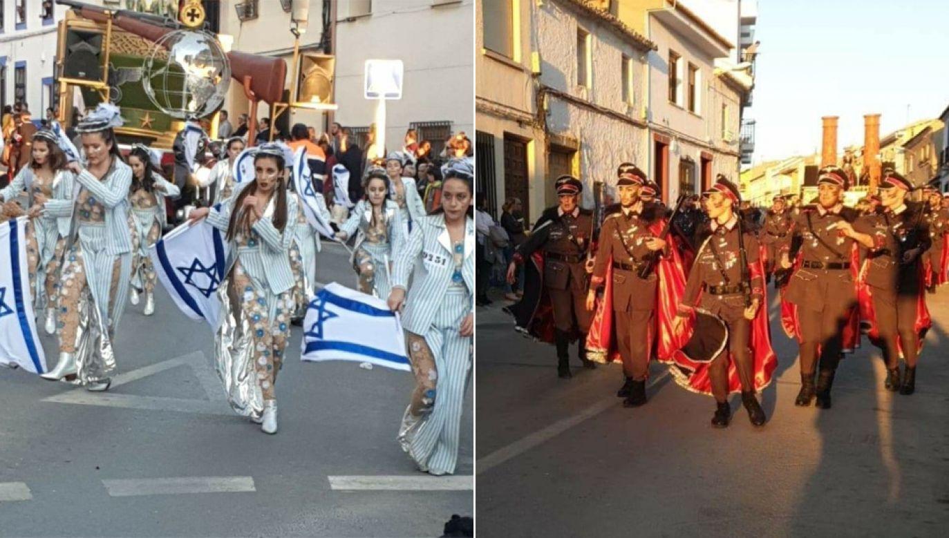 Skandaliczna parada miała miejsce w mieście Campo de Criptana (fot. TT/En cómodos plagios)