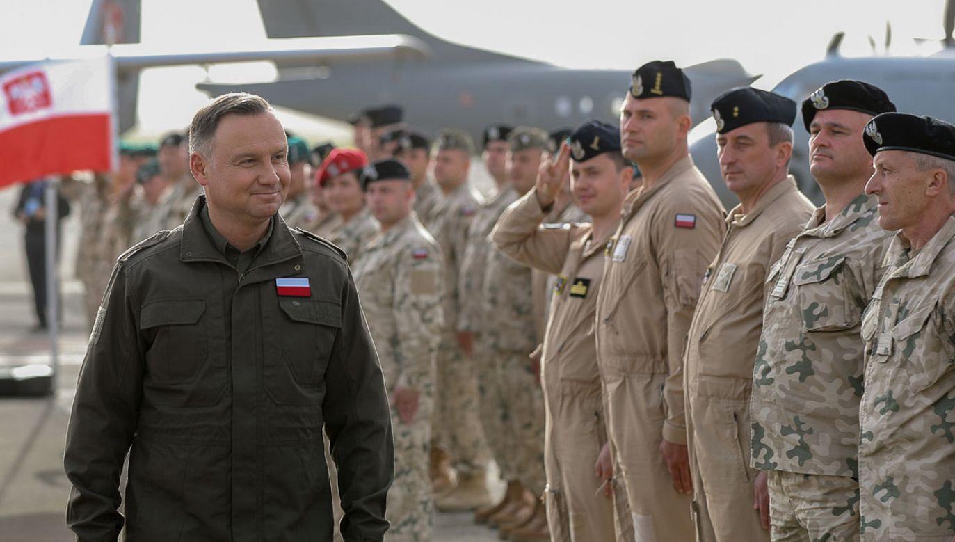 W operacji weźmie w niej udział 120 żołnierzy i pracowników oraz samolot B-28B1R (fot. Grzegorz Jakubowski/KPRP)
