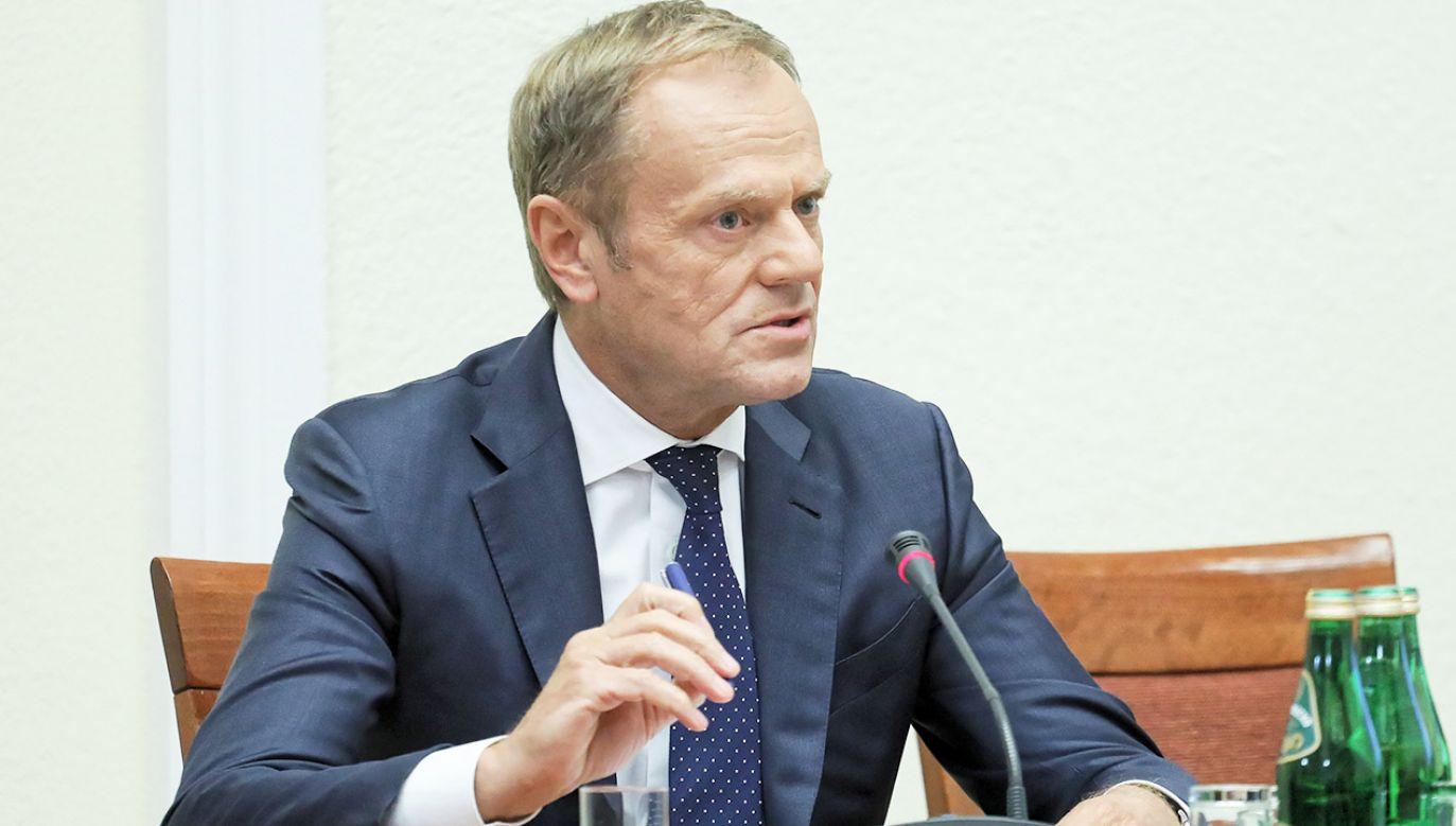 Były premier nie będzie we wtorek zeznawać przed komisją (fot. arch. PAP/Paweł Supernak)