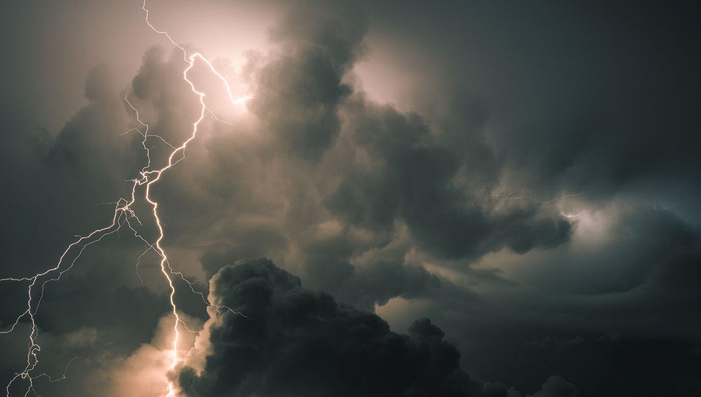 Na południowym wschodzie Polski może we wtorek dojść do burz z gradem (fot. Shutterstock/HE68)