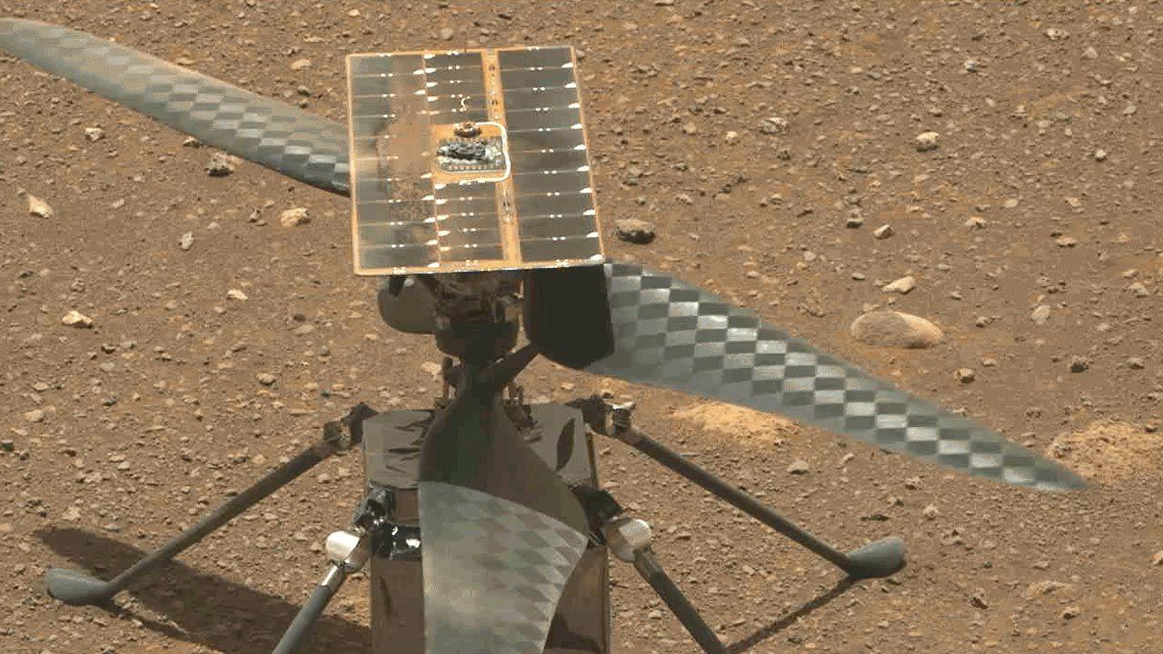 Śmigłowiec przeszedł testy (fot. NASA/JPL-Caltech)