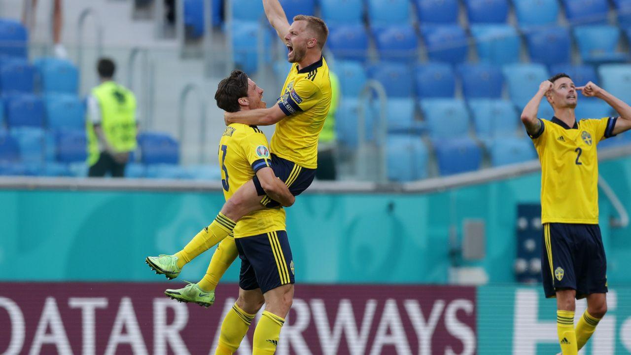 Szwedzi zapewnili sobie już awans do 1/8 finału mistrzostw Europy (fot. Getty Images)