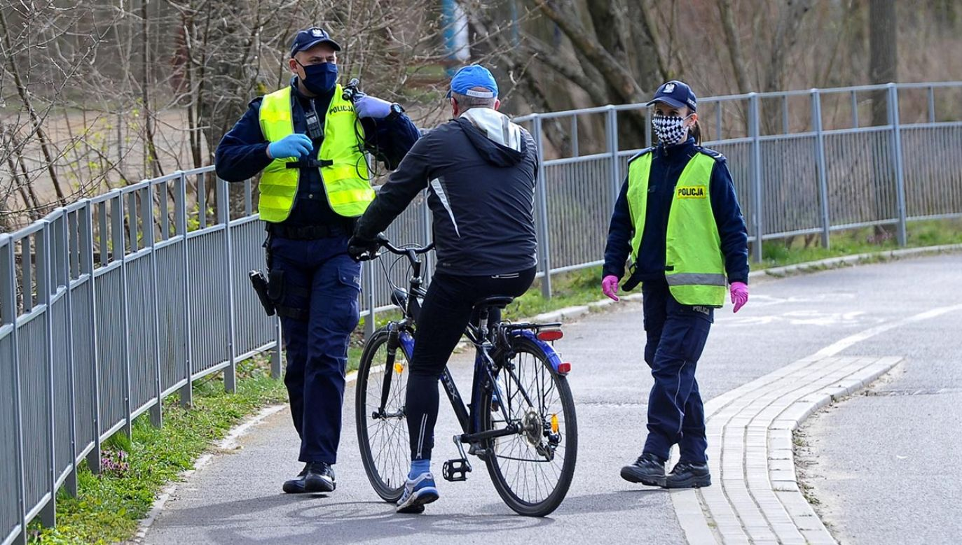 12 tys. kary musi zapłacić rowerzysta z Krakowa (fot. PAP/Marcin Bielecki)