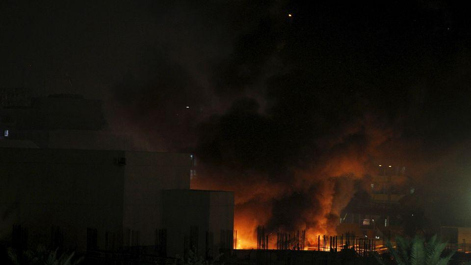 """Eksplozje w Bagdadzie w """"zielonej strefie"""" - tvp.info"""