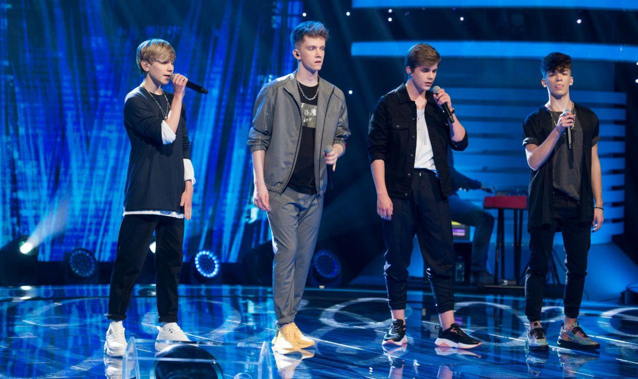 Na dobry nastrój zaśpiewali chłopaki z popularnej grupy muzycznej 4Dreamers (fot. Jan Bogacz/TVP)