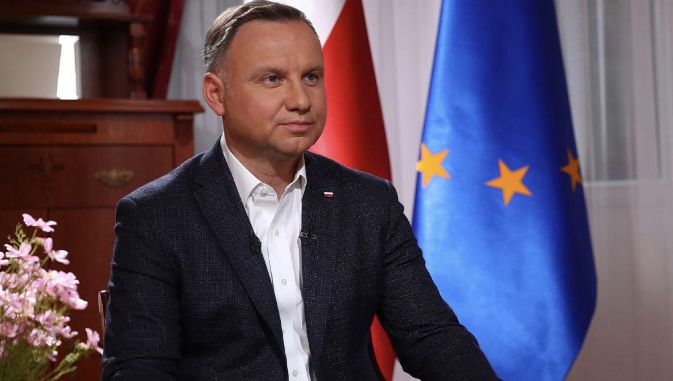 Prezydent odniósł się do sprawy Anny Derewienko (fot. KPRP)