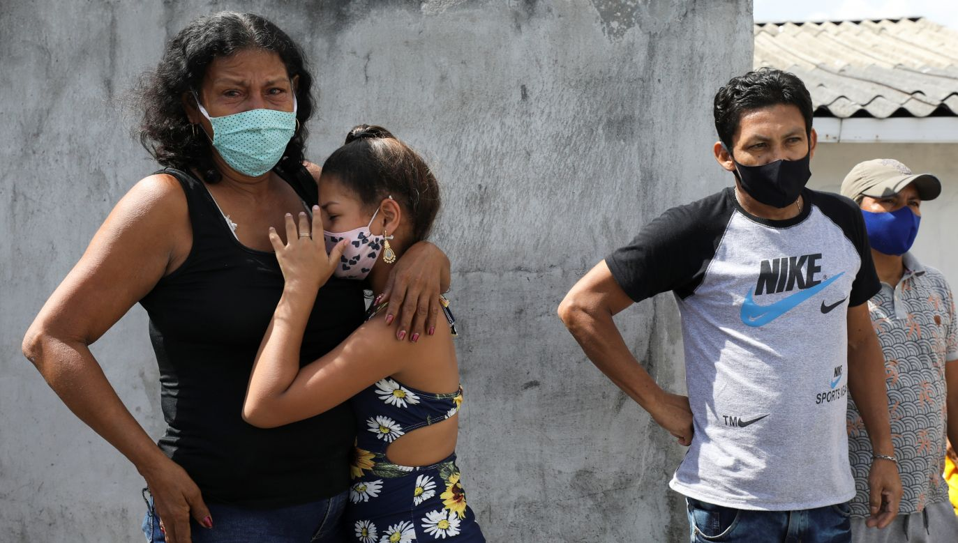 Szybki wzrost liczby nowych zachorowań w Brazylii (fot. Bruno Kelly/Reuters)