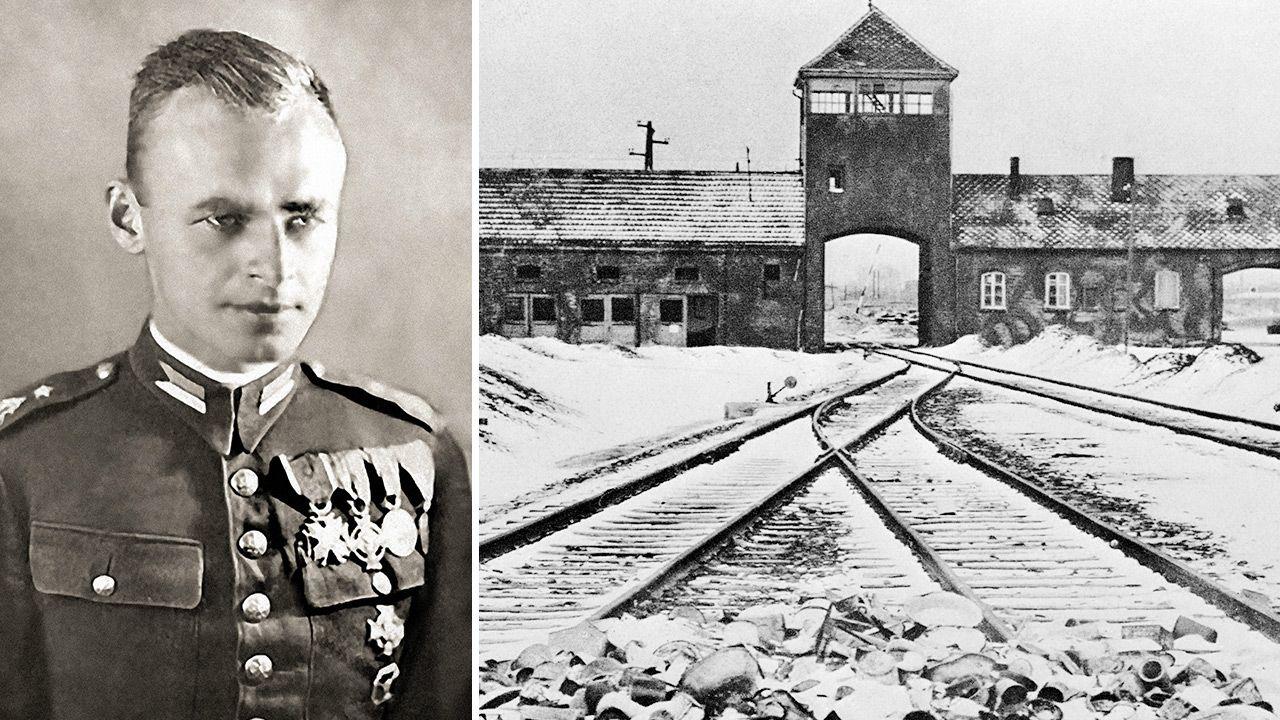 Witold Pilecki dostał się na ochotnika do Auschwitz  (fot. PAP/ Universal Art Archive / Alamy Stock Photo; gettyimages)