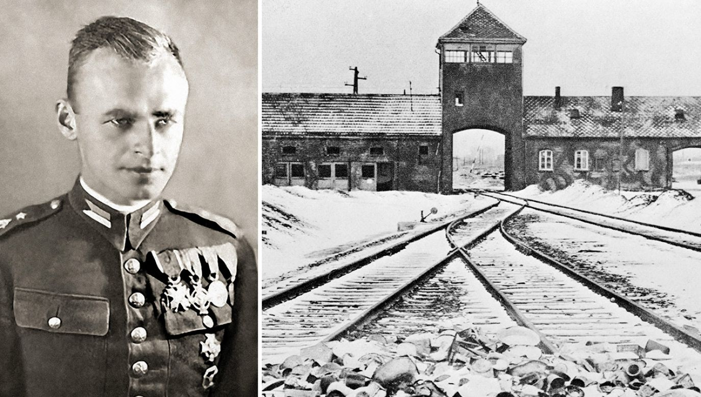 Witold Pilecki dostał się na ochotnika do Auschwitz  (fot. PAP/ Universal Art Archive / Alamy Stock Photo; gettyimages)