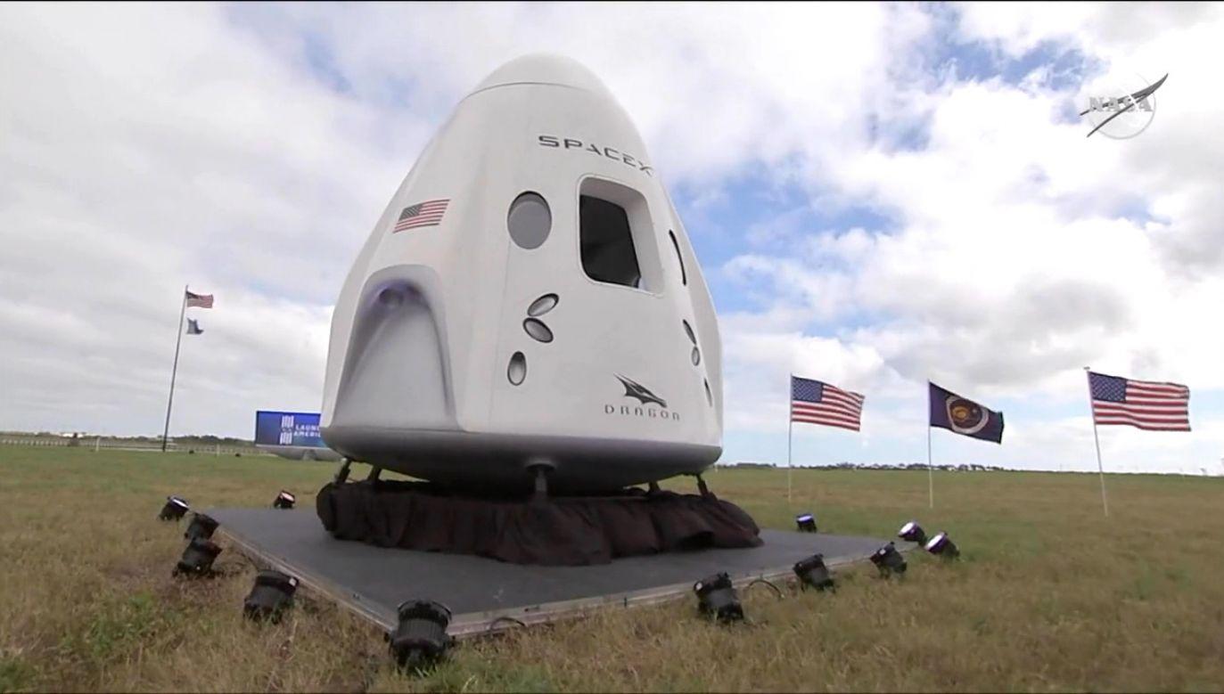 Rakieta Falcon 9 z załogą poleci na ISS (fot. USNASA/NASA)