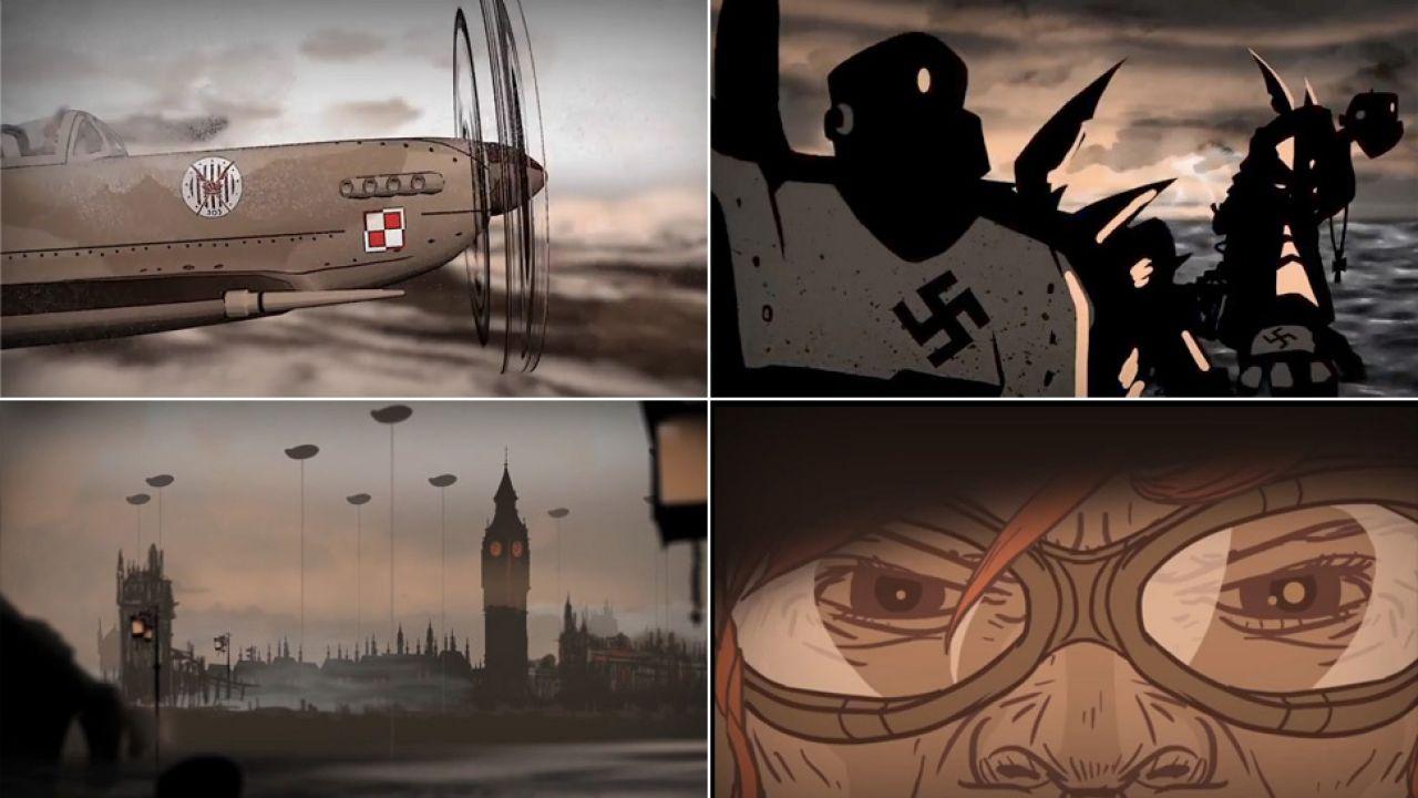 Bitwa o Anglię w komiksowym wydaniu