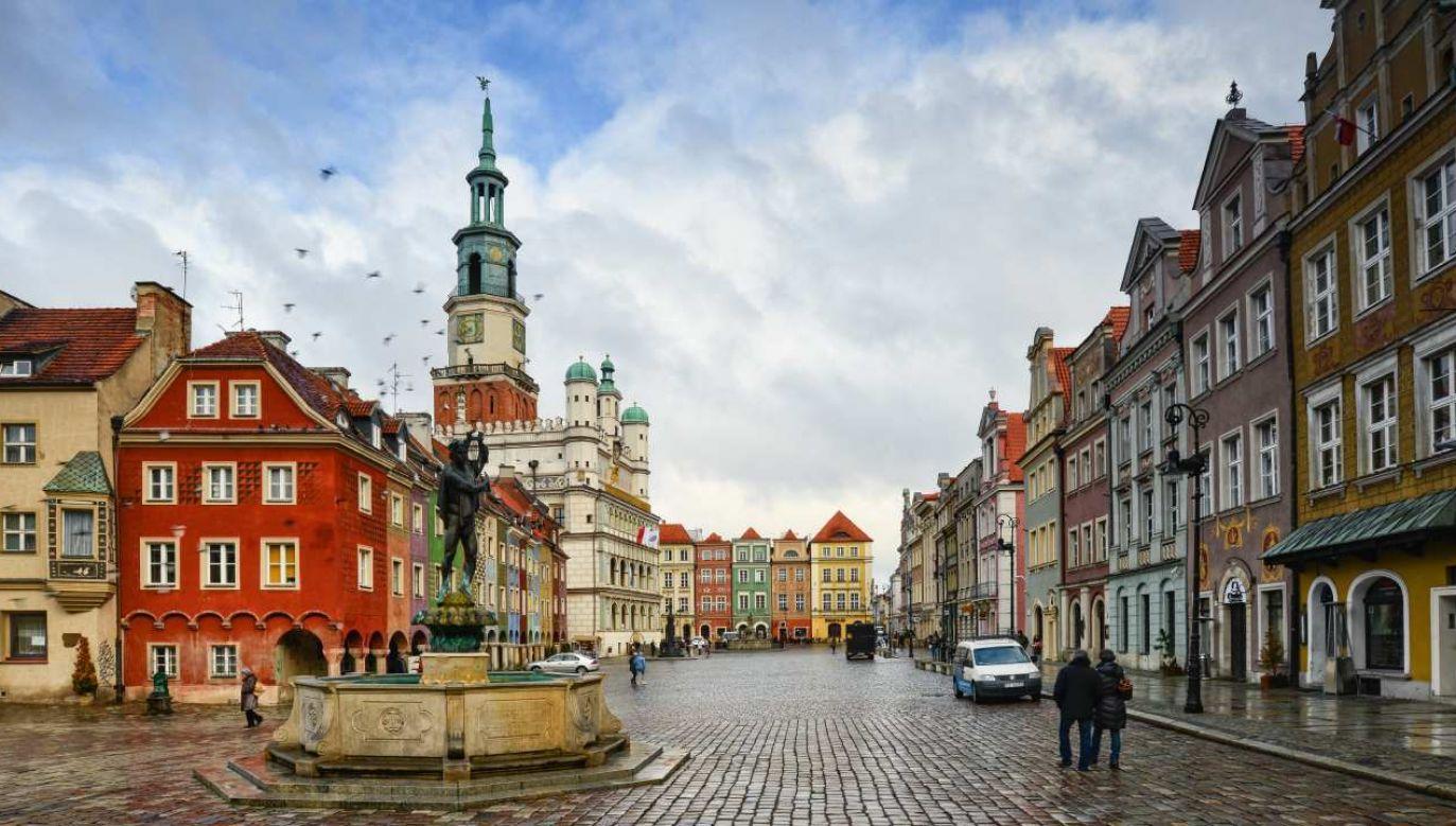 Poznań został dobrze oceniony przez agencje ratingowe (fot. Shutterstock/Roobcio)