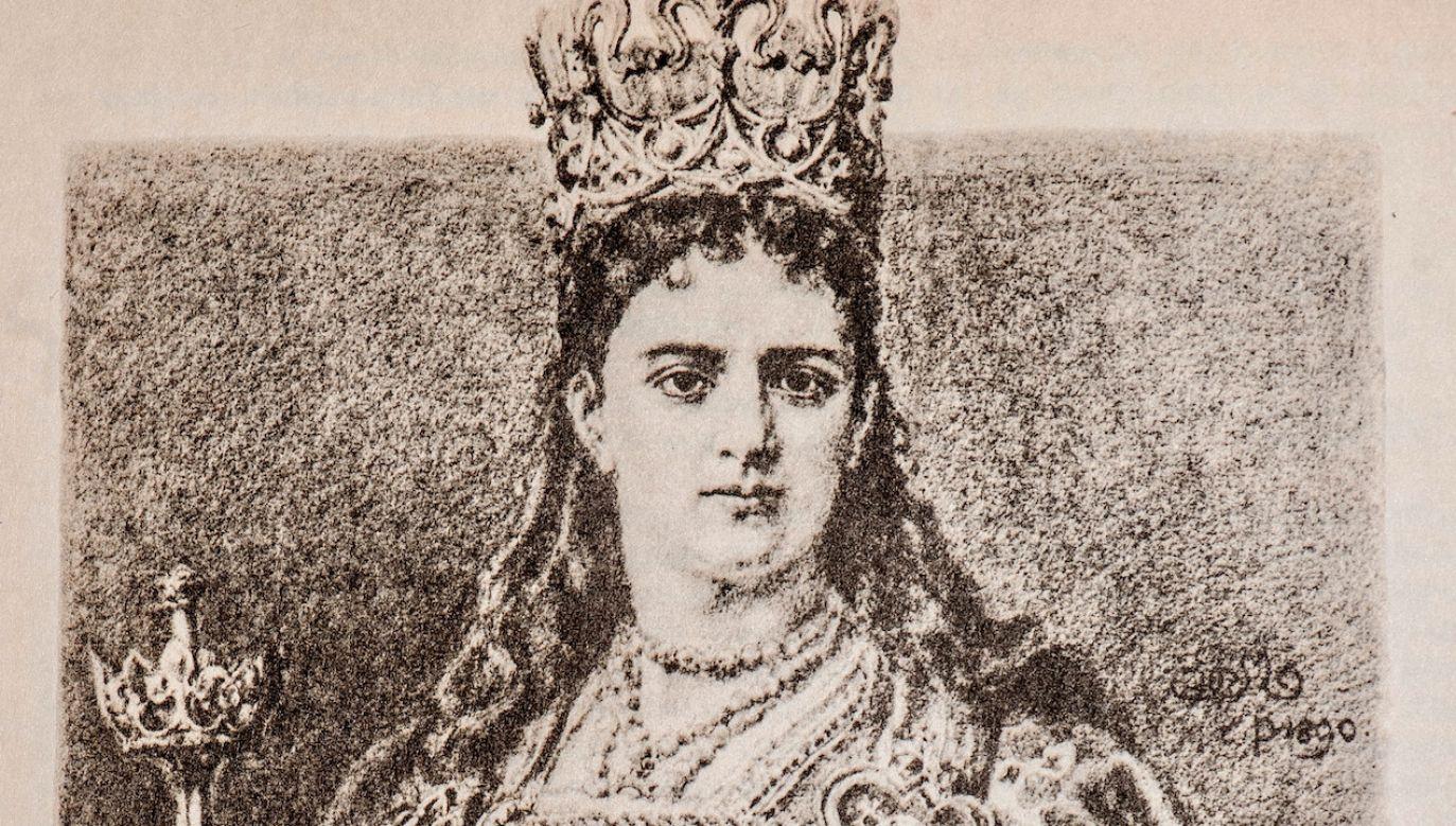 Zdaniem prezesa NBP na banknocie powinien znaleźć się wizerunek  królowej Jadwigi (fot. arch.PAP/Reprodukcja)