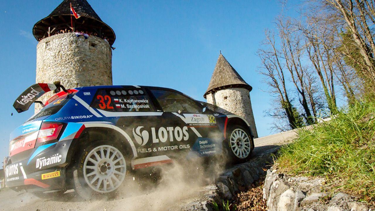 W  WRC3Kajetan Kajetanowicz był zdecydowanie najszybszy (fot. Facebook/Kajetan Kajetanowicz)