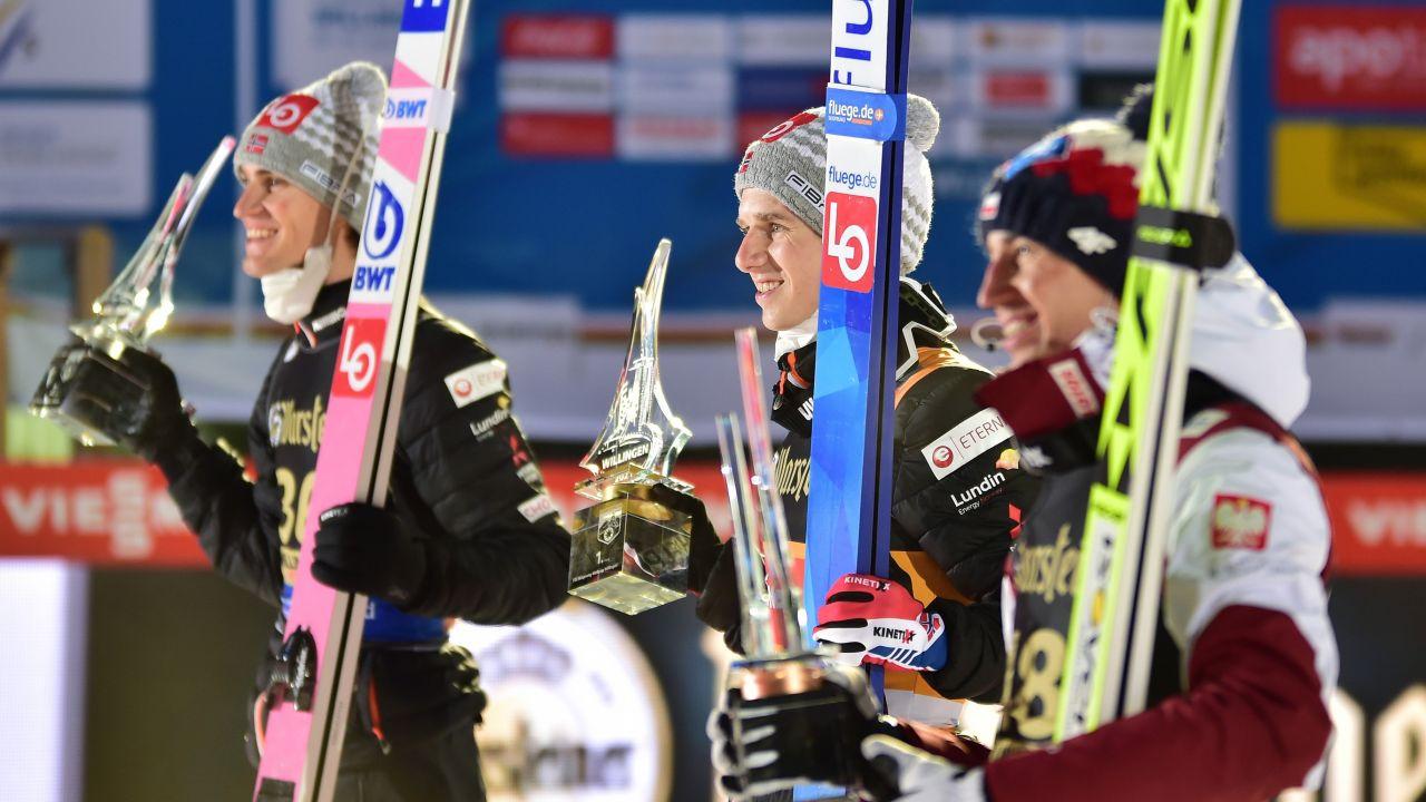Halvor Egner Granerud to zdecydowany faworyt obu mistrzowskich konkursów (fot. Bjoern Reichert/Nordic Focus via Getty Images)