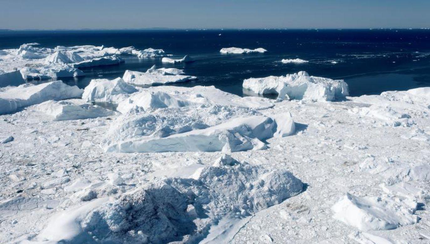 Licząca 56 tys. mieszkańców Grenlandia to największa wyspa świata (fot. Reuters)