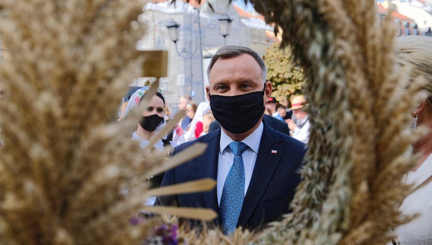 Tegoroczne Dożynki Prezydenckie odbywają się w Warszawie, a nie jak dotychczas w Spale (fot. Mateusz Marek)