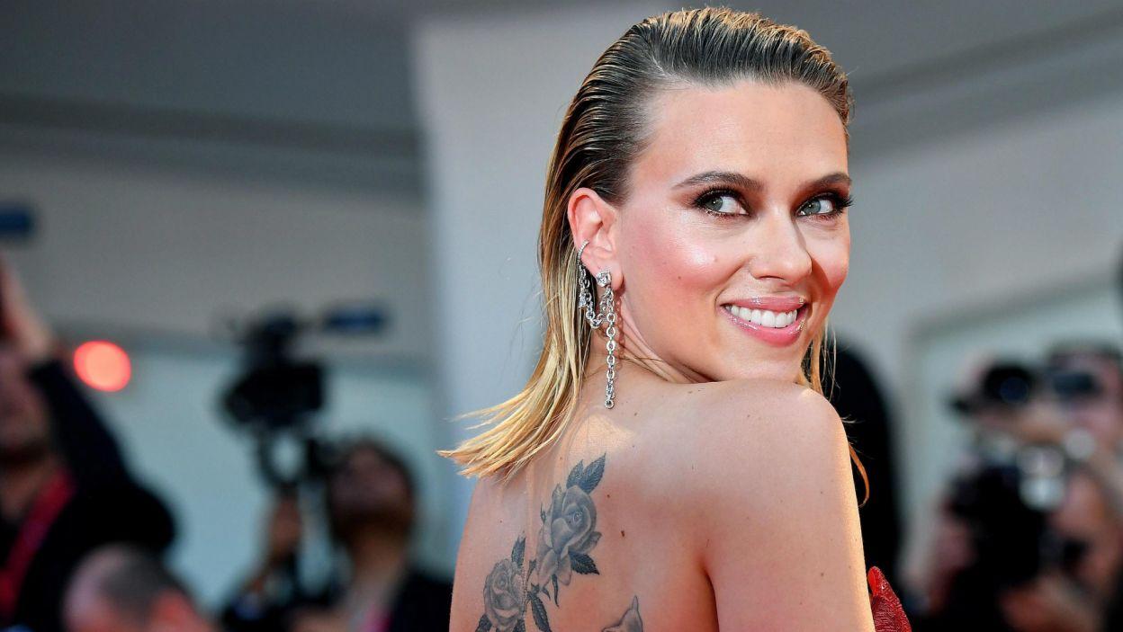 Scarlett Johansson (fot. PAP/EPA/ETTORE FERRARI)