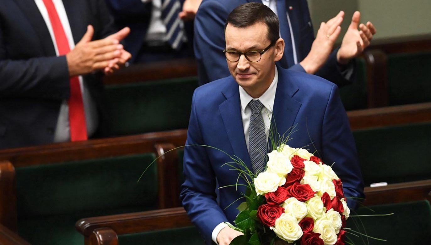 Sejm za rządem Morawieckiego (fot. PAP/Radek Pietruszka)