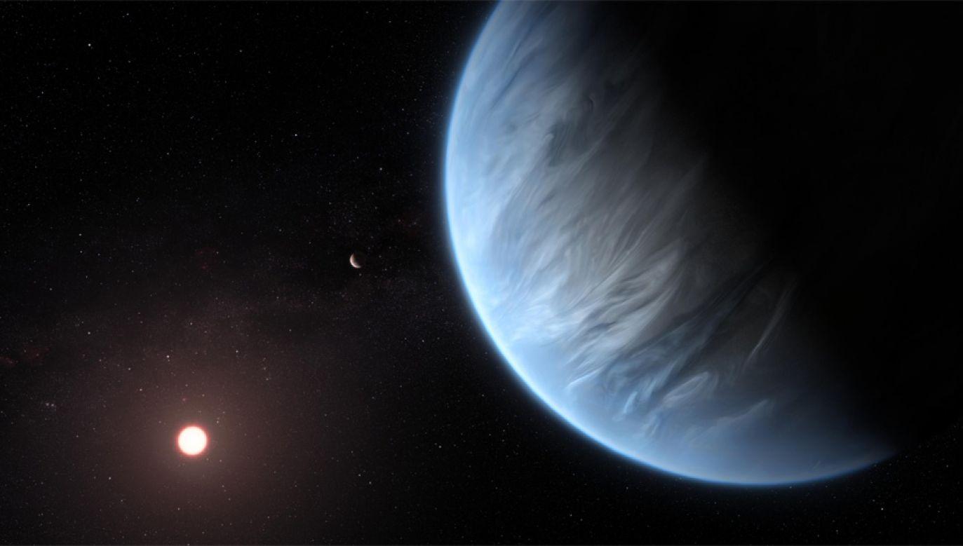 Planeta K2-18 b znajduje się zaledwie 111 lat świetlnych od Ziemi (fot. CSED)