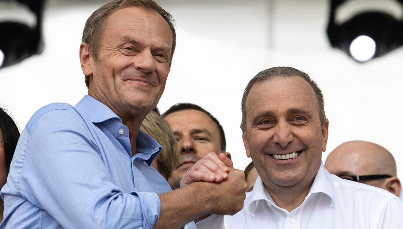 Platforma Obywatelska tęskni za zwycięstwami – mówi Grzegorz Schetyna (fot. Forum/Andrzej Hulimka)