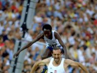 Bronisław Malinowski był najlepszy w  biegu na 3 000 m z przeszkodami w Moskwie 1980 (fot. Getty)