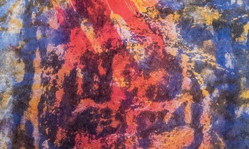 Twarz Chrystusa jak z chusty świętej Weroniki. Fot. Muzeum Archidiecezji Warszawskiej