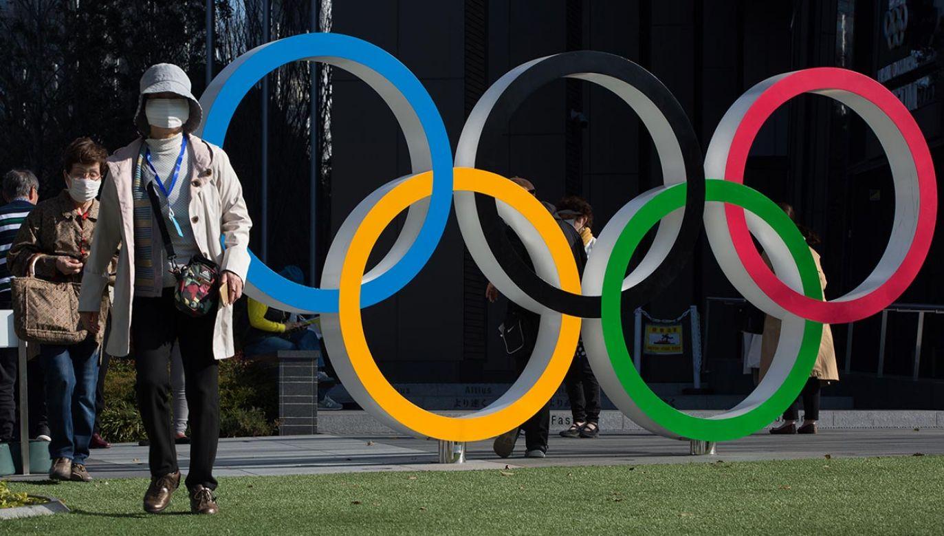 Ze względu na rozbudowany system dopingu Rosjanie zostali wykluczeni z igrzysk w Tokio, które miały się odbyć w tym roku (fot.  Stanislav Kogiku/SOPA Images/LightRocket via Getty Images)