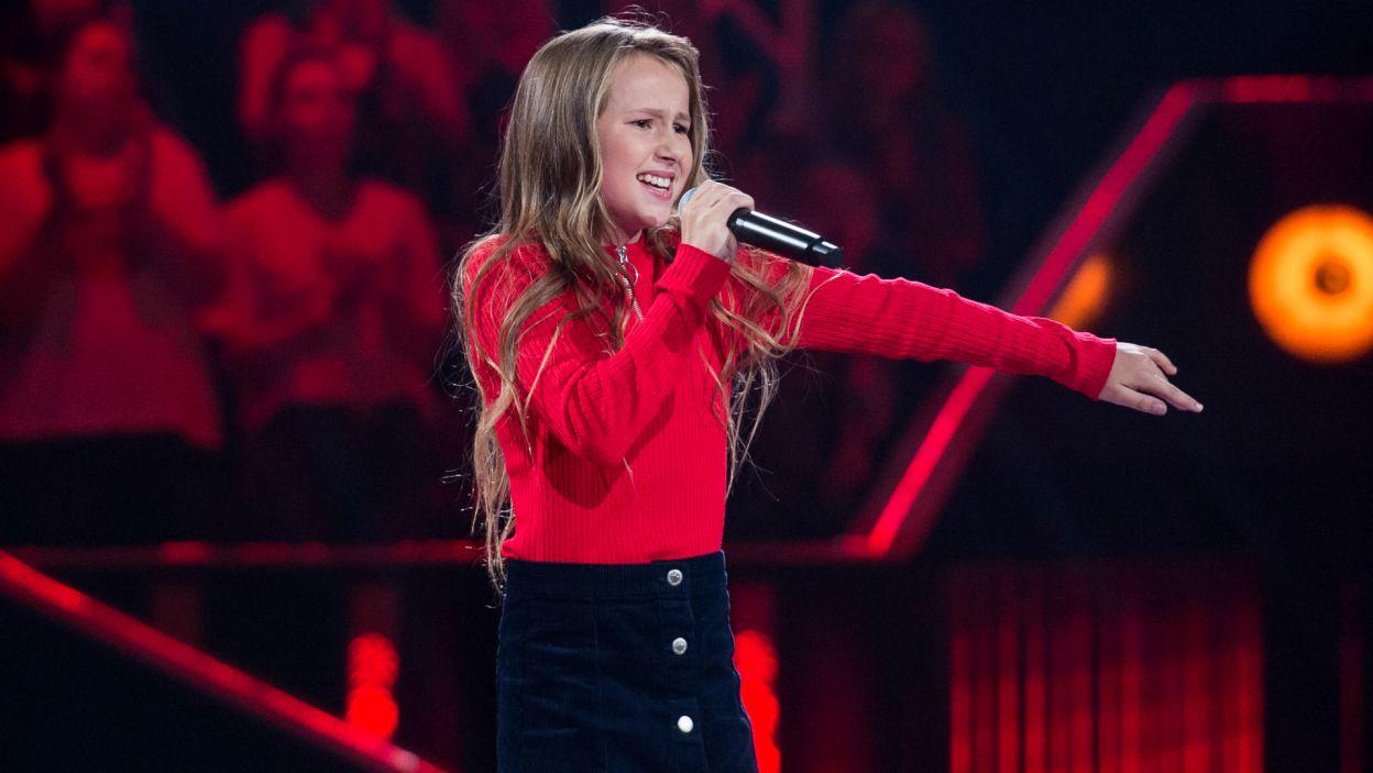 Tym razem młodzi wokaliści zaprezentowali jeszcze raz piosenki z etapu Przesłuchań w ciemno(fot.TVP)