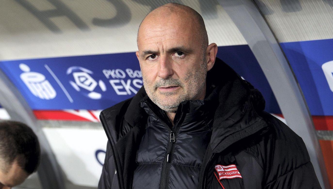 Michał Probierz jest najdłużej pracującym trenerem w jednym klubie w PKO Ekstraklasie (fot. PAP)