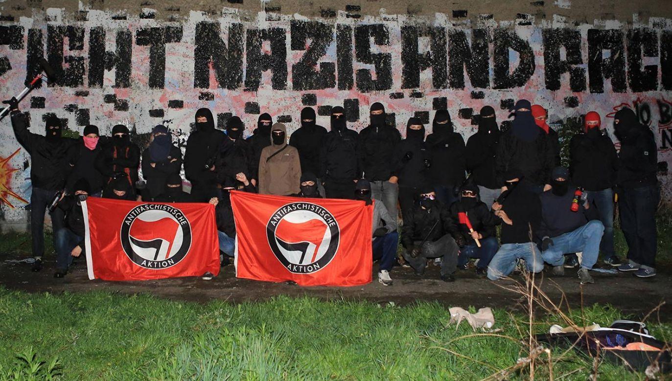 Działania anarchistów śledzą służby specjalne (fot. PAP/DPA/THOMAS RASSLOFF)
