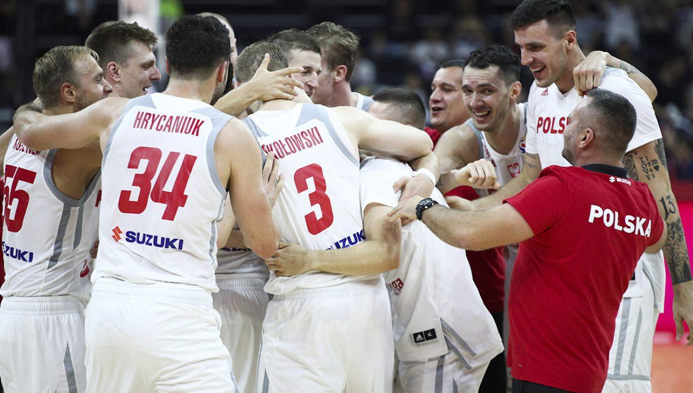 Polska wygrała z Rosją 79:74 (fot. VCG/VCG via Getty Images)