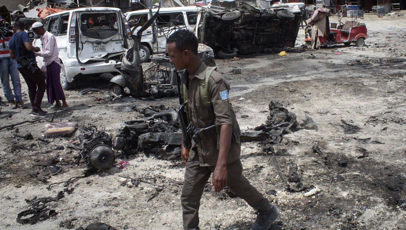 Bojownicy islamistycznego Asz-Szabab są sprawcami większości zamachów (fot. PAP/EPA/Said Yusuf Warsame)