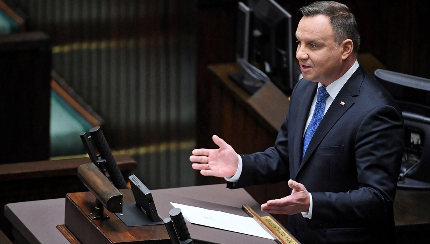 Inauguracja Sejmu nowej kadencji (fot. PAP/Radek Pietruszka)