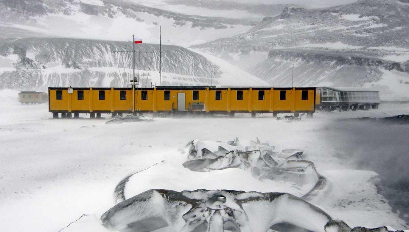 Polska Stacja Antarktyczna imienia Henryka Arctowskiego znajduje się na półkuli południowej w archipelagu Szetlandów Południowych (fot. arch. PAP/Tomasz Janecki)