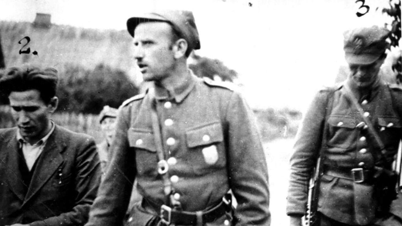 """Mjr Zygmunt Szendzielarz """"Łupaszka"""" (fot. IPN)"""
