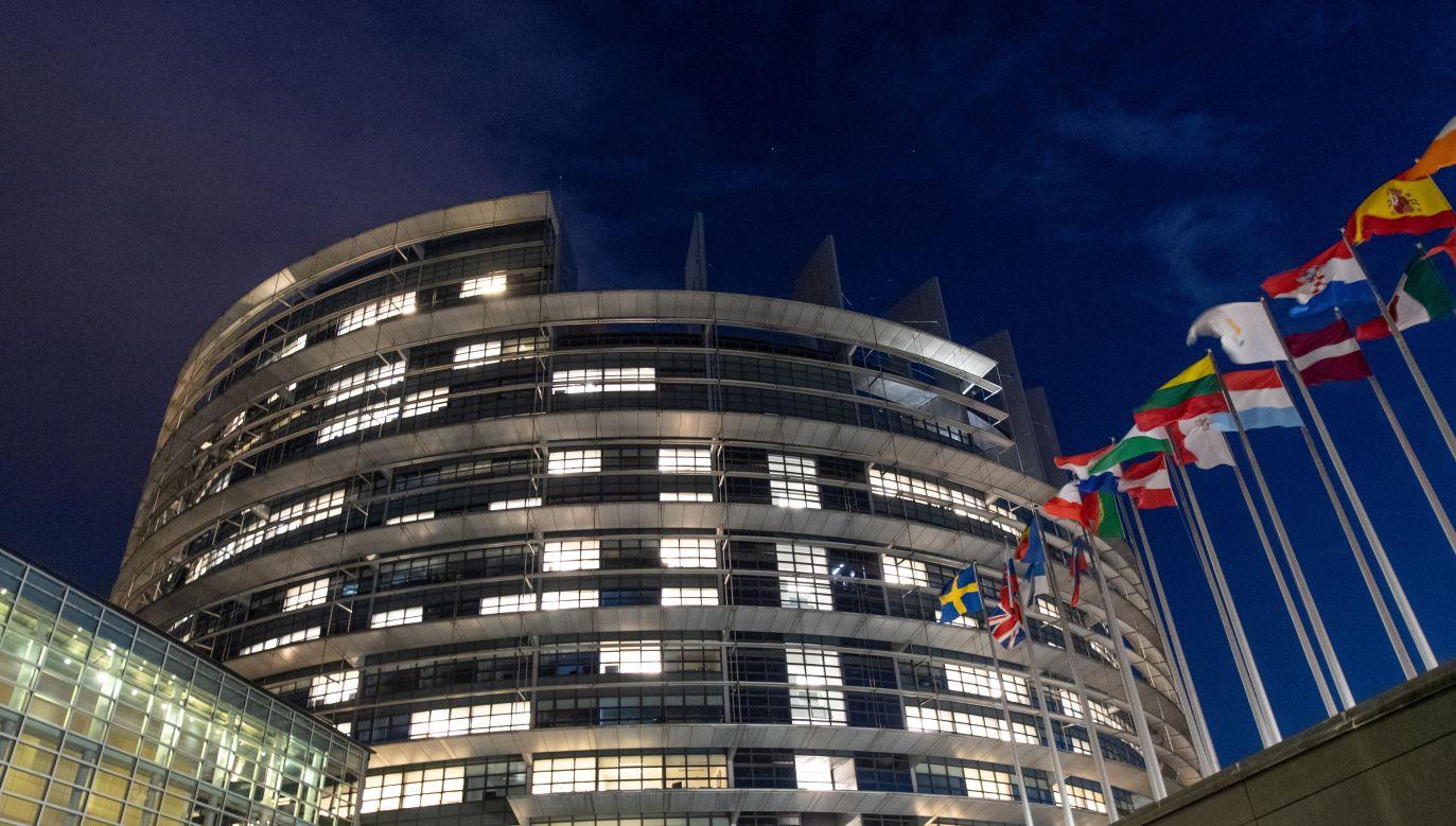 Siedziba Parlamentu Europejskiego (fot.arch.PAP/EPA/PATRICK SEEGER)