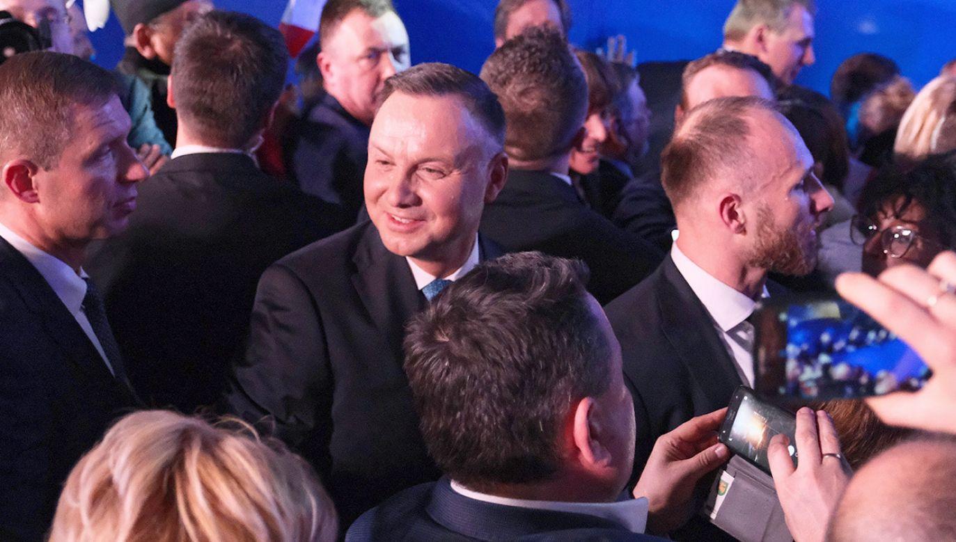 """""""By jak najbardziej zmobilizować naszych zwolenników""""(fot. PAP/Mateusz Marek)"""